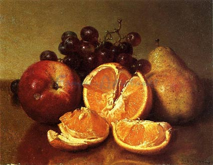 Robert Spear Dunning: Still Life of Fruit