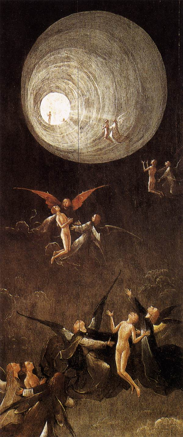 Ascent of the Blessed, Hieronymus Bosch - source Wikipedia
