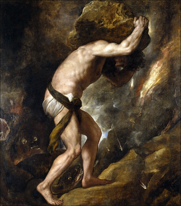 The Punishment of Sisyphus, source: Wikipedia