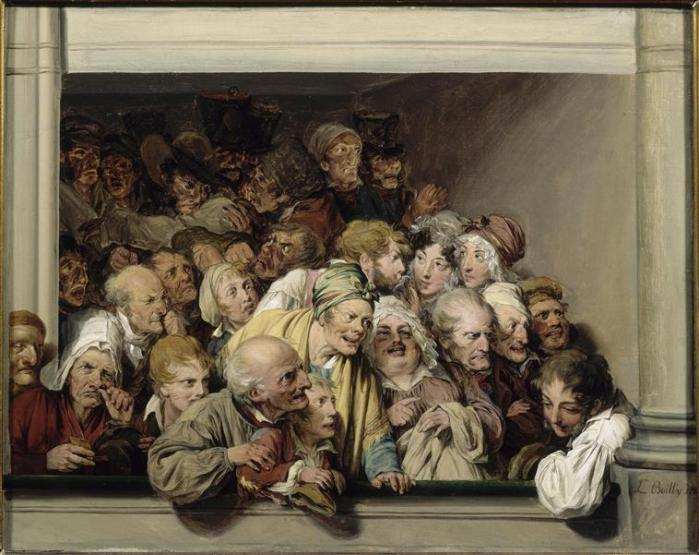 """""""L-L Boilly Une loge"""" by Louis-Léopold Boilly - Licensed under Public domain via Wikimedia Commons"""