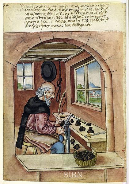 Peter Schmid - 1565 - source Wikimedia Commons