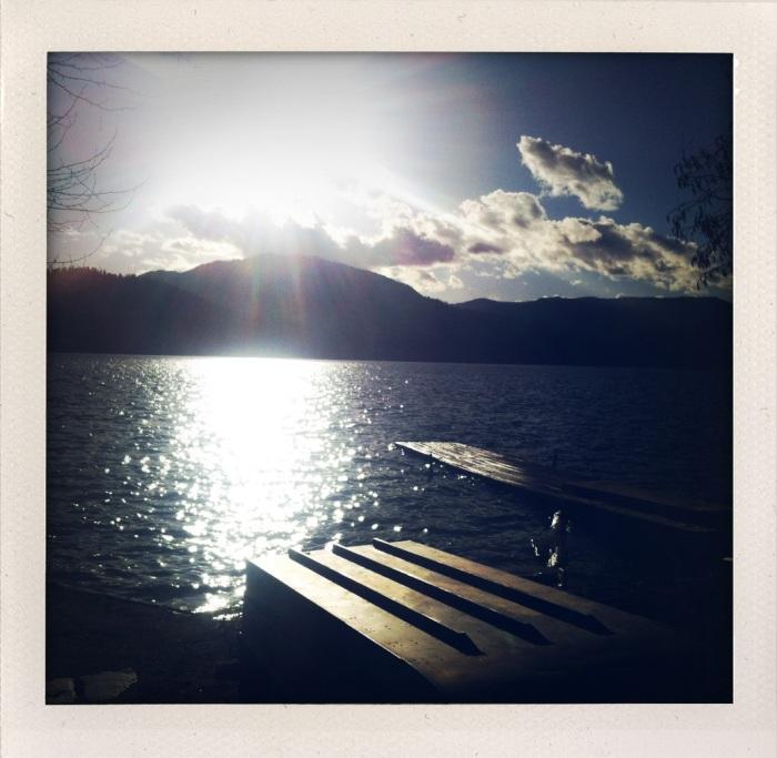 Waitts Lake, Washington - photo by Loren Chasse