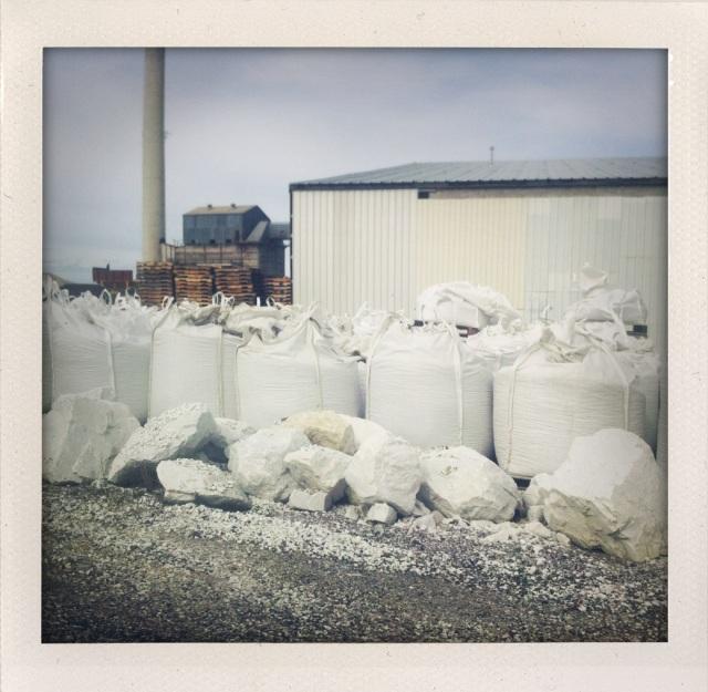Sand mining in Stevens County