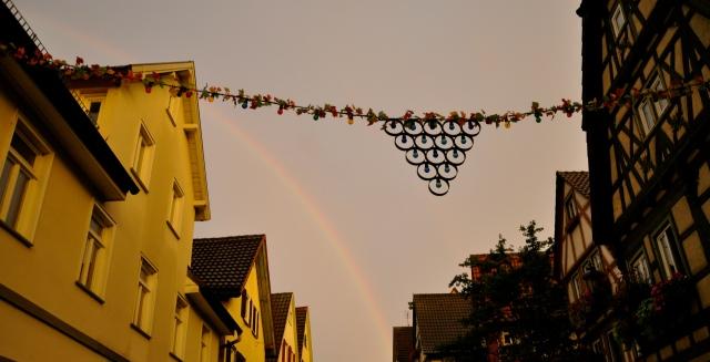 Somewhere over der Regenbogen