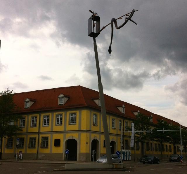 Snake sculpture, Ludwigsburg