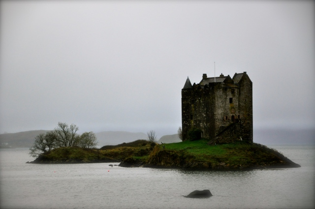 (It really is one of the castles from Monty Python & The Holy Grail)