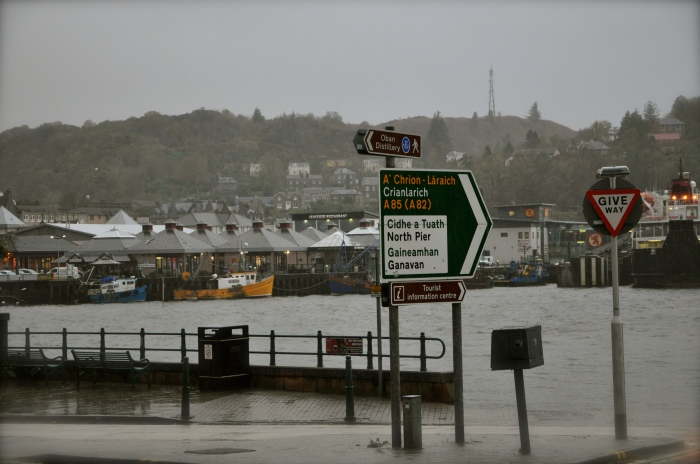 Oban, 'frontier between the west Highlands and the Islands'
