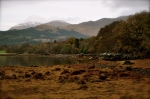 """The Mountains of Argyll, Loch Creran -- a seven-mile long sea loch, setting for R. Louis Stevenson's """"Kidnapped"""""""