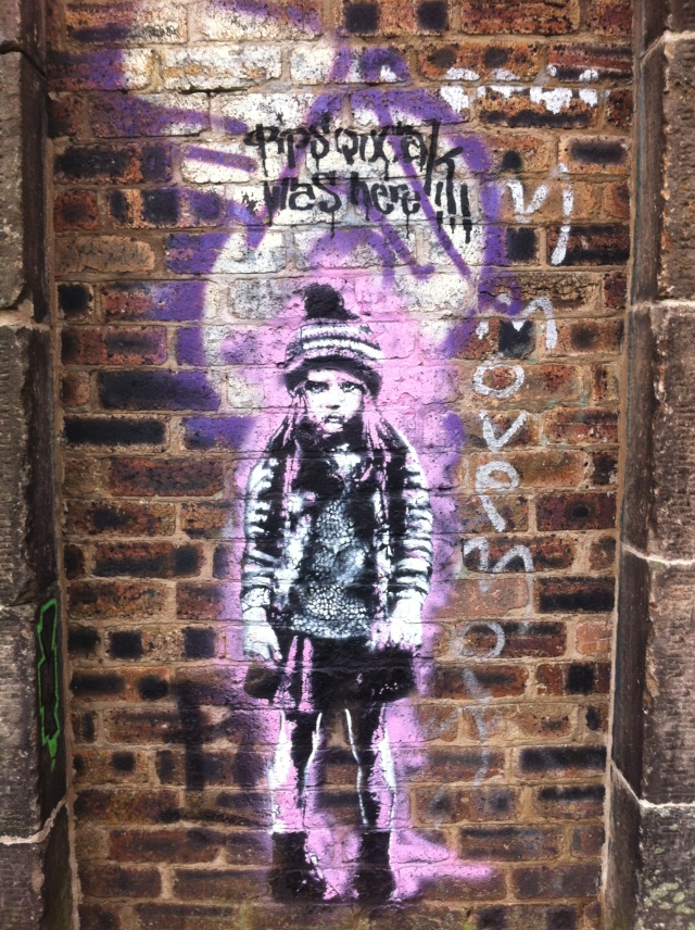 Graffiti on Calton Hill, Edinburgh