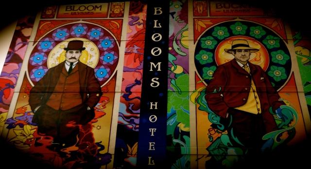 Mural in Temple Bar neighbourhood, Dublin