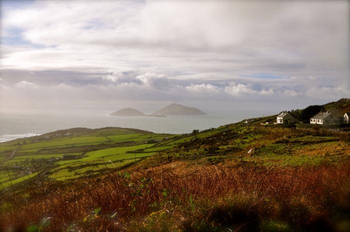 Near Skellig Michael, ring of Kerry, Ireland
