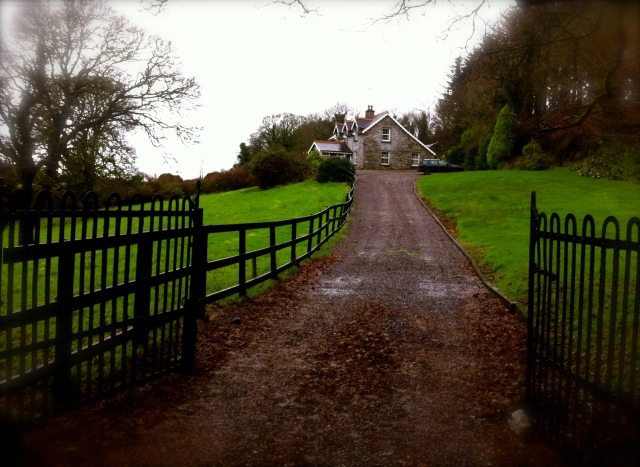 The farmhouse we rented, somewhere between Drimagh and Drimoleague