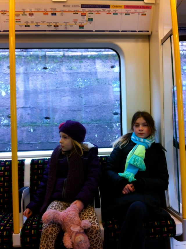 Changing on the London District Line at Wimbledon
