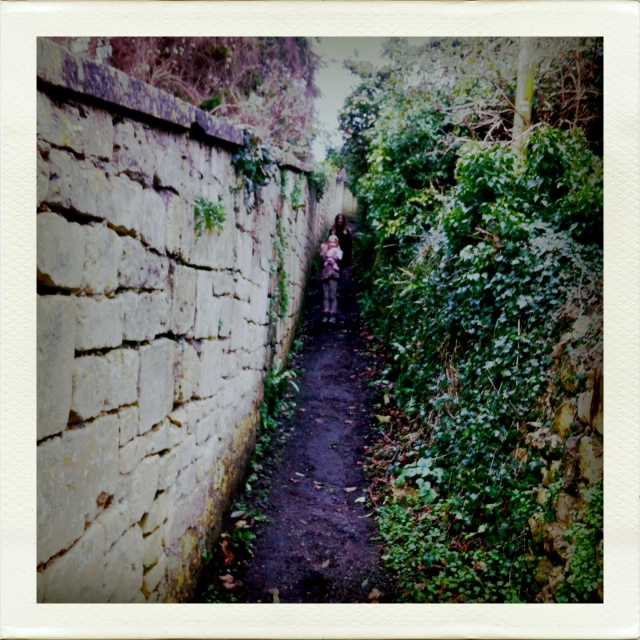 Public footpath, Combe Down