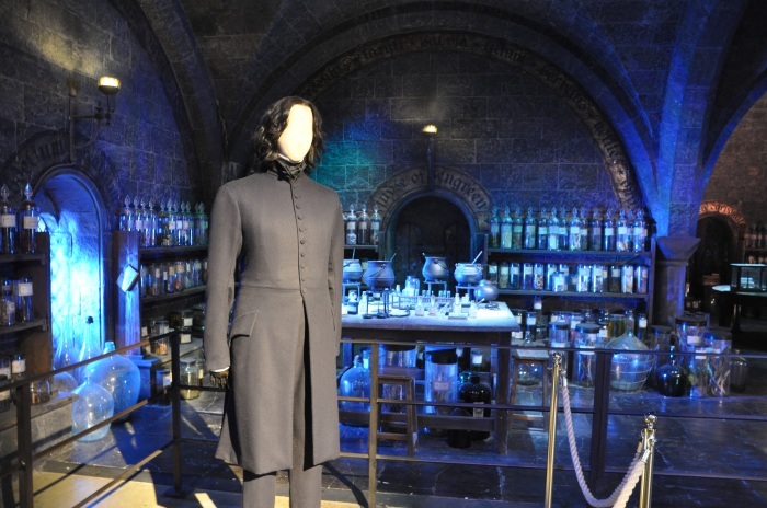 Snape's potion room at Universal Studios, outside London