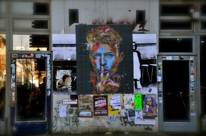 Bowie mural, Kreuzberg, Berlin
