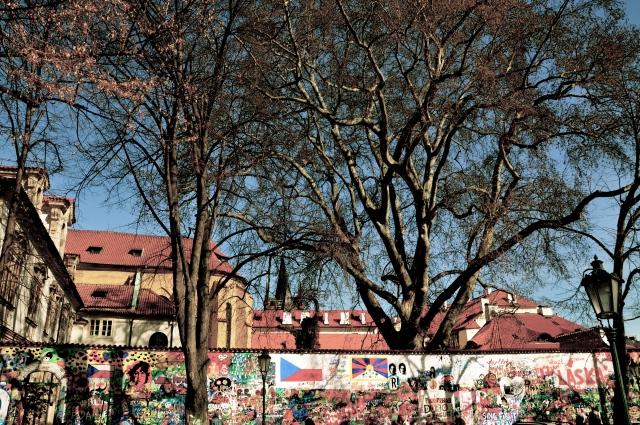 John Lennon wall, Lesser Town (Prague)