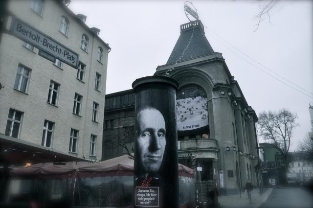 Bertolt Brecht, Berlin '16