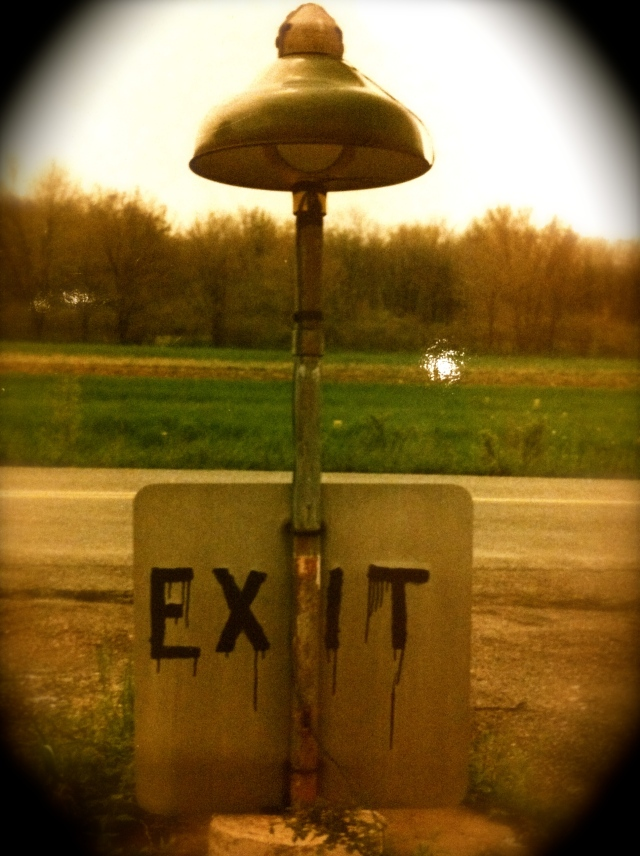 Photo taken by Shana at abandoned drive-in movie theater, southeast PA