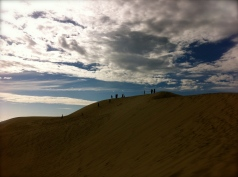Sand dunes on Oregon coast, August '13