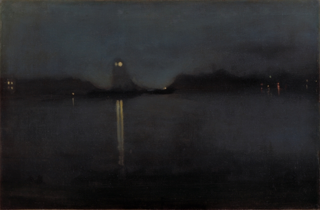 "By James Abbott McNeill -""Nocturne"""