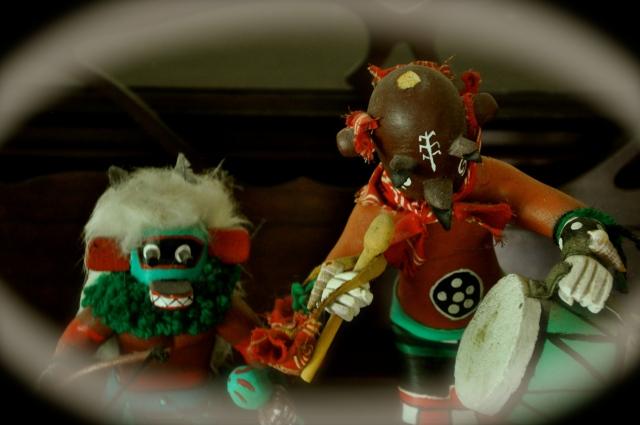 John's kachina dolls