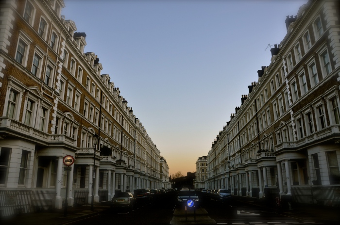 London, near West Kensington, January '16