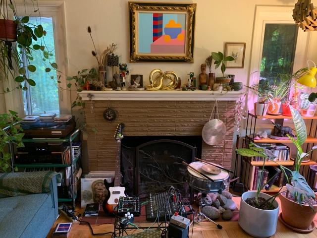Portland musician's house